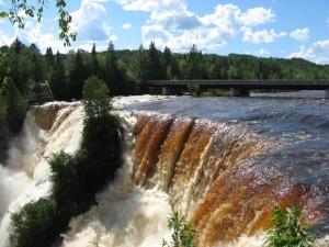Kakabeka Falls on the Kaministiquia River