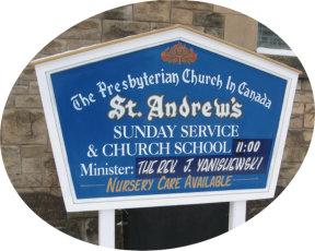 St. Andrew's Presbyterian Church, Thunder Bay