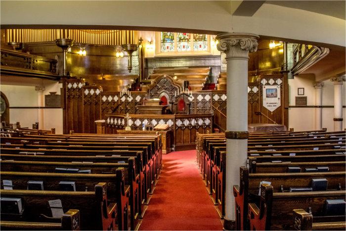 St. Andrew's interior