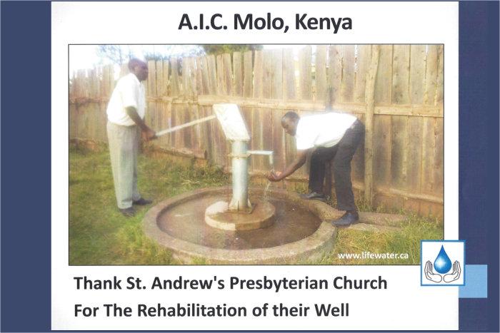 Pump rehabilitation in Kenya