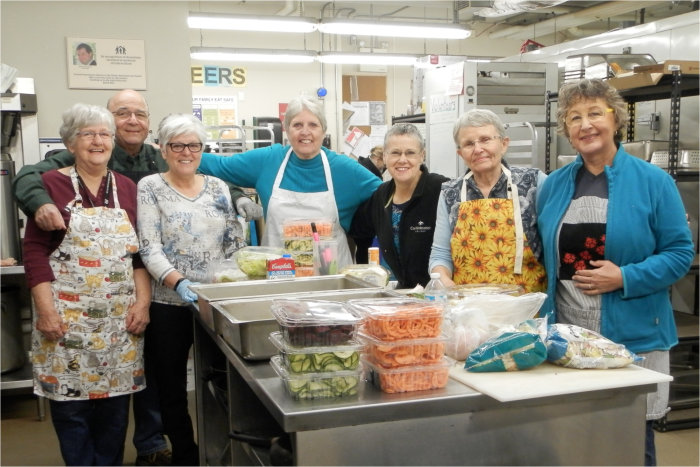 Shelter House cooking team