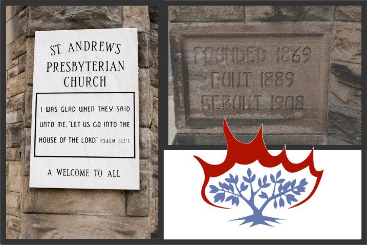 Founded 1869, Built 1889, Rebuilt 1908
